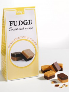 Chocolate & Vanilla Fudge