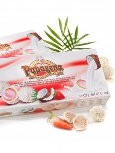 Kokos-Erdbeerkugeln