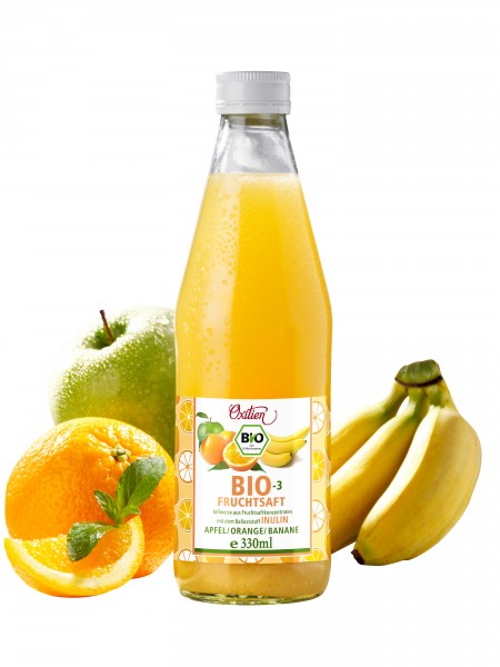 Bio-3-Fruchtsaft, 1er Pack