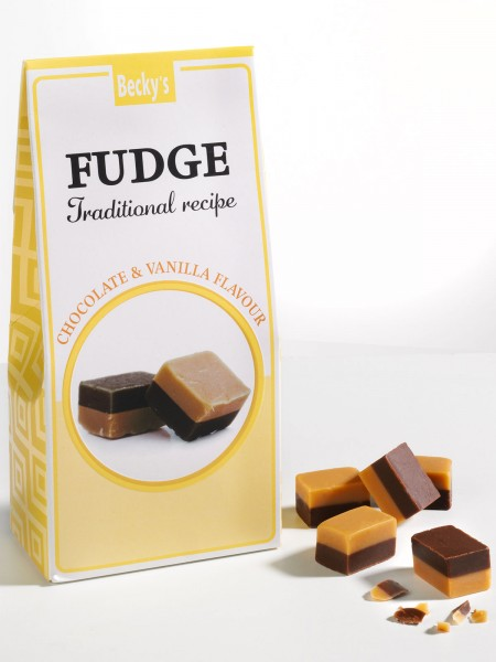 Chocolate & Vanilla Fudge