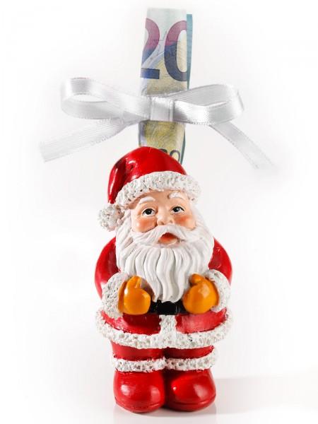 """Geldgeschenk-Deko """"Weihnachtsmann"""""""