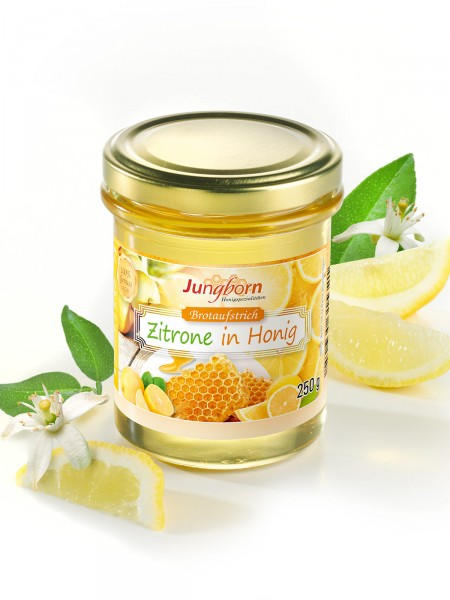 """Brotaufstrich """"Zitrone in Honig"""""""