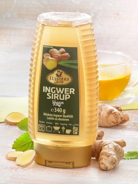 Portionierflasche Ingwer-Sirup