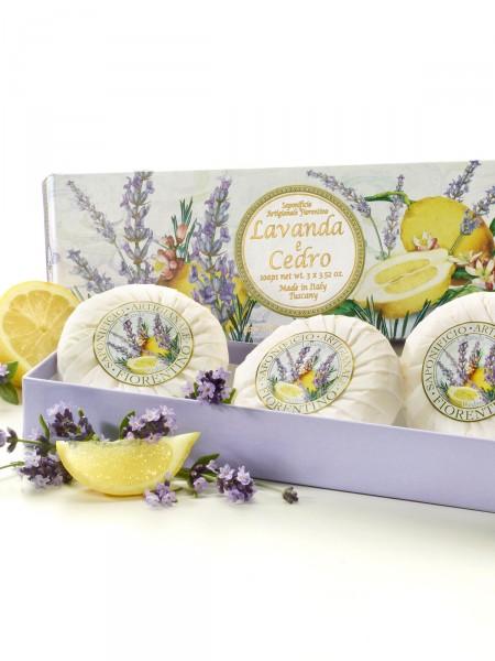 """Toskanische Seife """"Zitrone & Lavendel"""""""