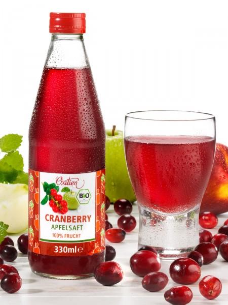 Bio-Cranberry-Apfelsaft