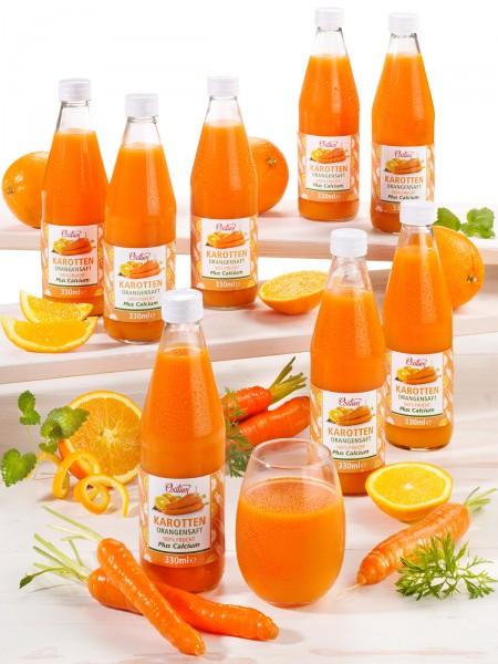 Karotten-Orangensaft, 8er