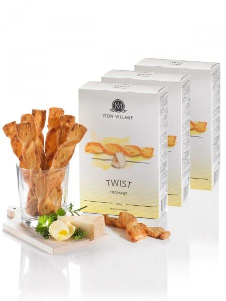 """""""3 für 2"""" Käse & Butter Twist"""