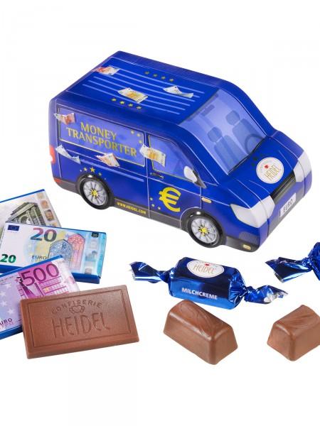 Süßer Geldtransporter