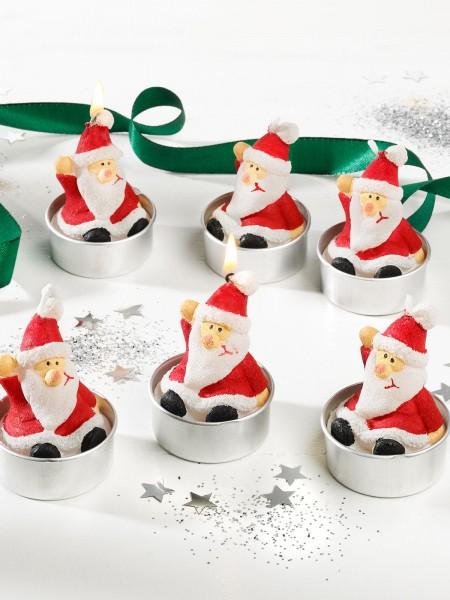 "Teelichter ""Santa"""