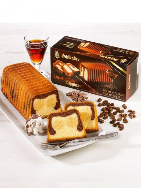 Cappuccinolikör-Kuchen