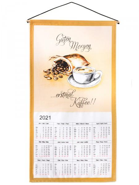 """Wandkalender """"Kaffeegruß"""""""
