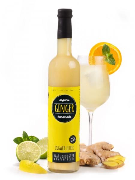 Ingwer-Elixir, Bio