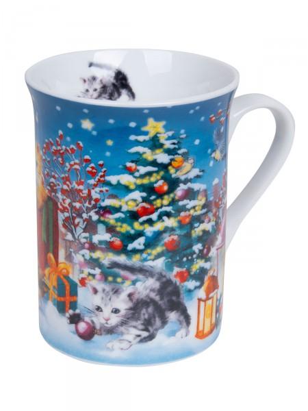 """Kaffeebecher """"Winterkätzchen"""""""
