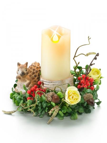 "LED-Kerzen-Arrangement ""Herbstzauber"""