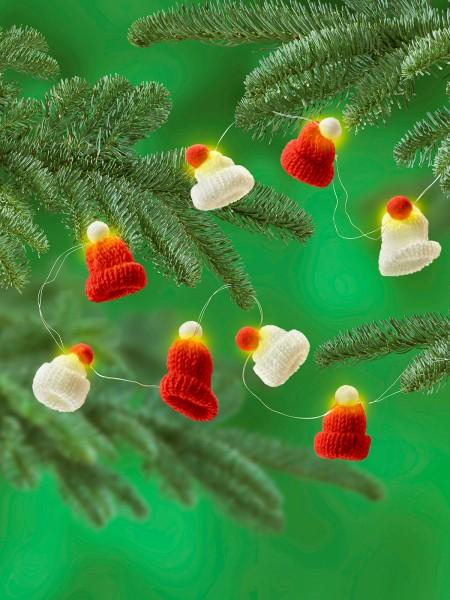 """Lichterkette """"Weihnachtsmütze"""""""