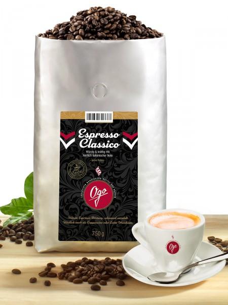 Espresso Classico Bohne, 750g