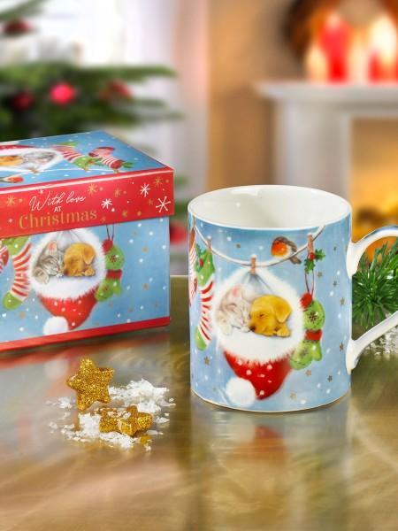 """Geschenkset """"Winterbecher"""""""