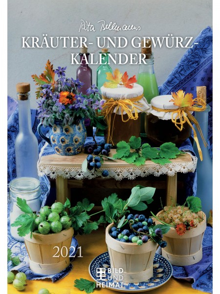Kräuter & Gewürz-Kalender 2021