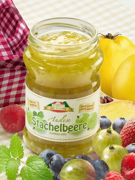 Stachelbeer-Bio-Konfitüre Extra