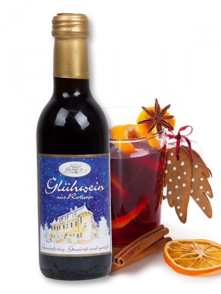 Schlosskellerei Glühwein aus Rotwein, 0,25l