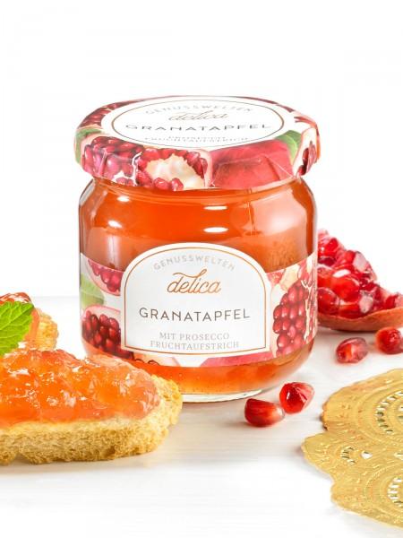 Granatapfel-Prosecco Fruchtaufstrich