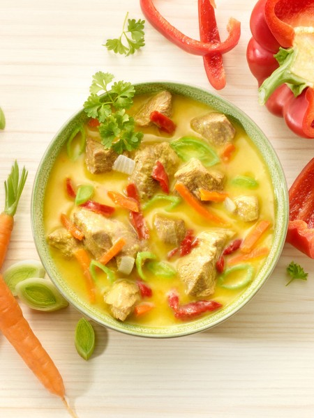 Bio-Pute in Currysauce