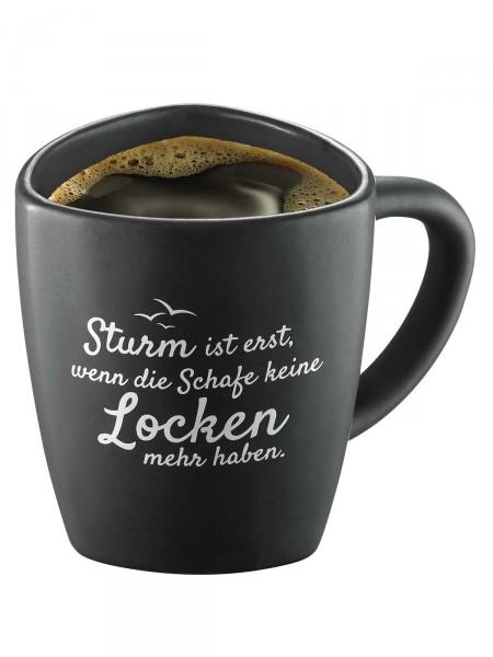 """Moin! Kaffeebecher """"Sturm"""""""