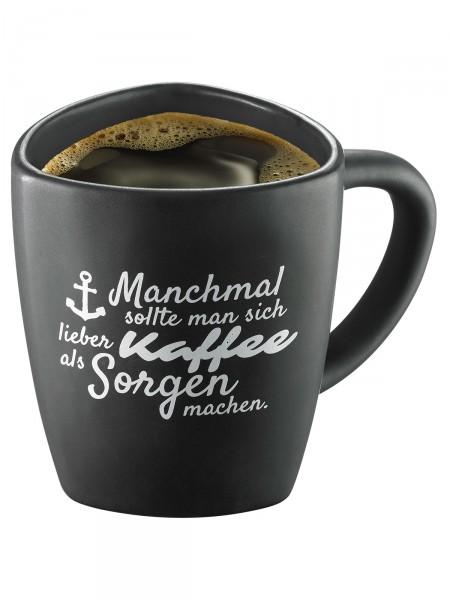 "Moin! Kaffeebecher ""Sorglos"""