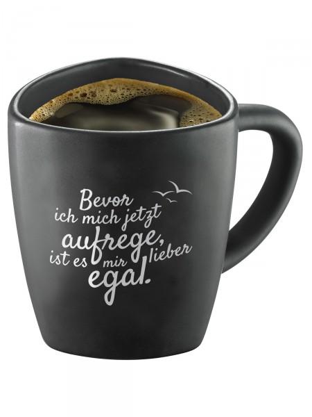 """Moin! Kaffeebecher """"Egal"""""""