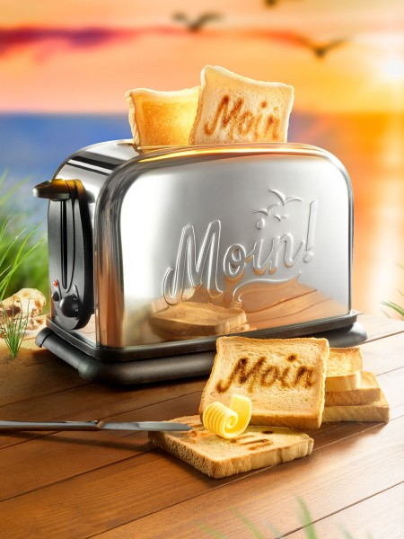 Moin! Toaster