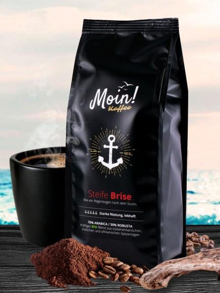 "Moin! BIO-Kaffee ""Steife Brise"", gemahlen"