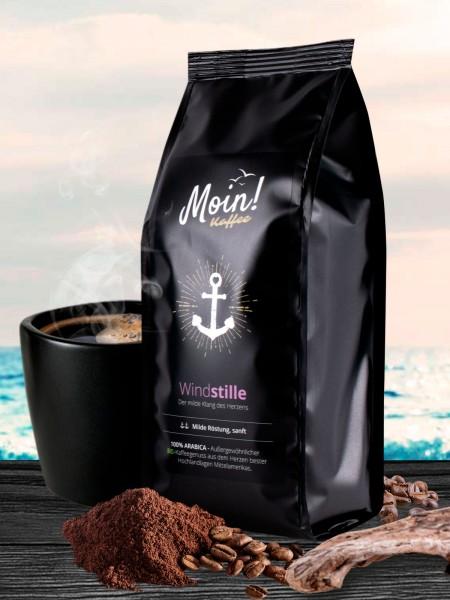 """Moin! BIO-Kaffee """"Windstille"""", gemahlen"""