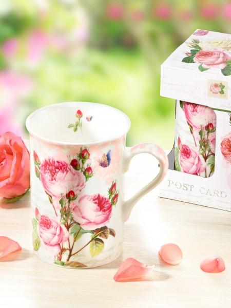 "Becher ""Romantic Rose"""