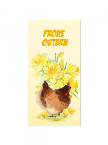 "Grußkarte ""Frohe Ostern"""