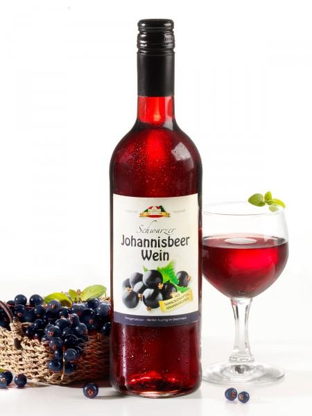 Schwarzer Johannisbeer-Wein