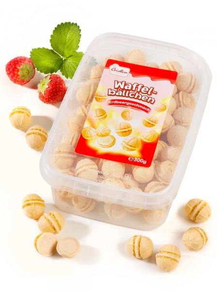 """Waffelbällchen """"Erdbeere"""""""
