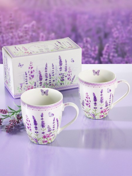 "Becherduo ""Lavendel"""