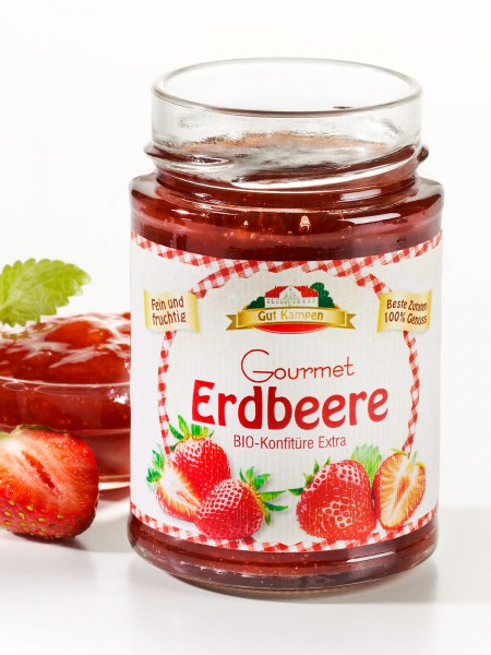 "Bio Erdbeer-Konfitüre ""Extra"""
