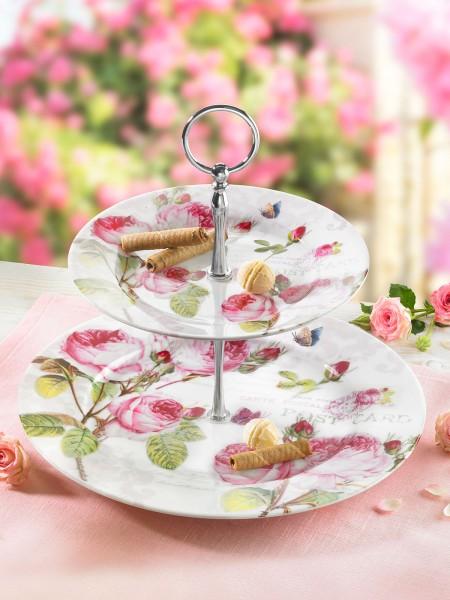 """Etagere """"Romantic Rose"""""""