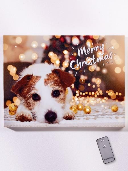 "LED-Bild ""Merry Christmas"""