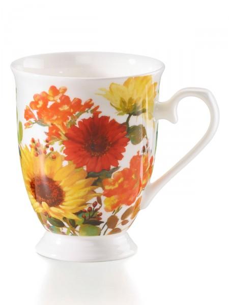 """Becher """"Sonnige Blumen"""""""