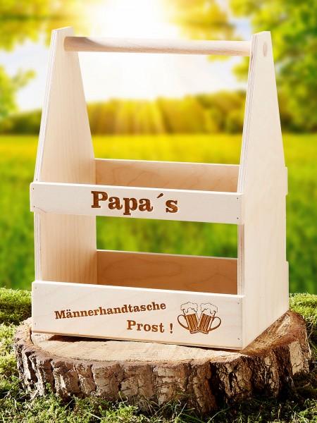 Papa's Männerhandtasche