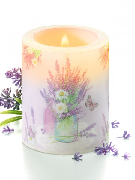 """Kerze """"Lavendelzauber"""""""