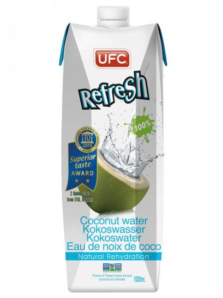 Refresh Kokoswasser, 1l