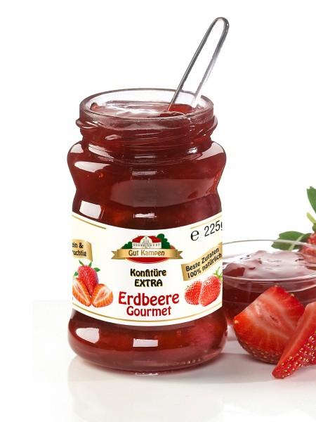 Erdbeer-Bio-Konfitüre, Gourmet Extra