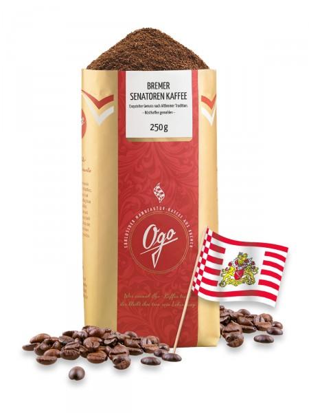 Bremer Senatoren Kaffee, gemahlen