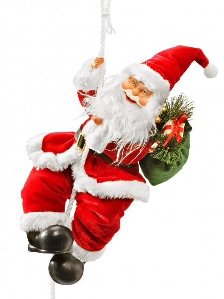 Kletternder Santa