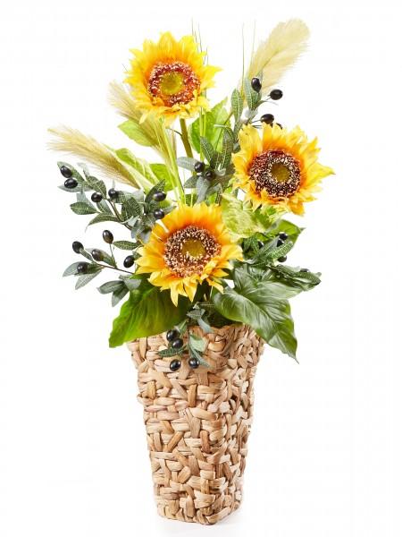 "Bodenvase ""Sonnenblume"""