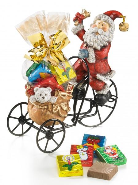Weihnachtsmann-Radler