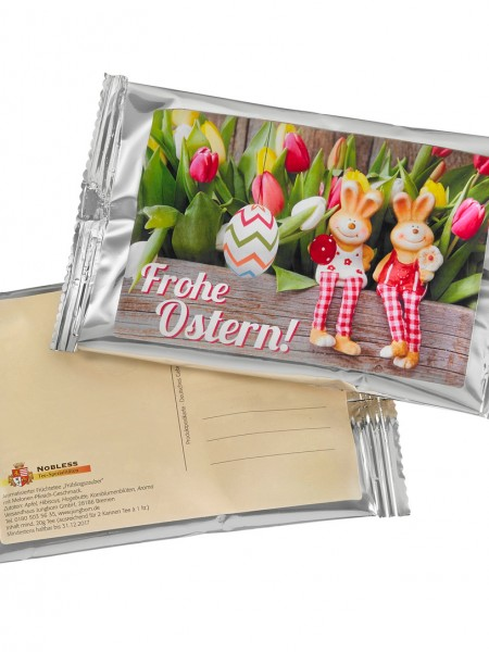 """Teepostkarte """"Ostern"""""""